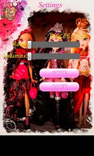 Ever After High Puzzle - screenshot thumbnail