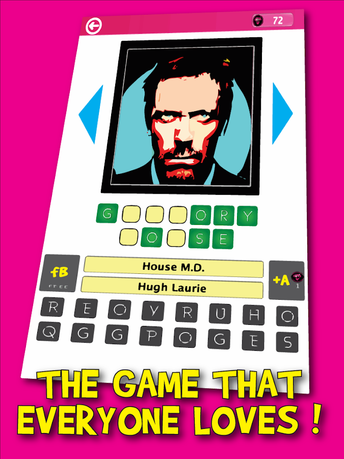 TV Characters PopArt Quiz- screenshot