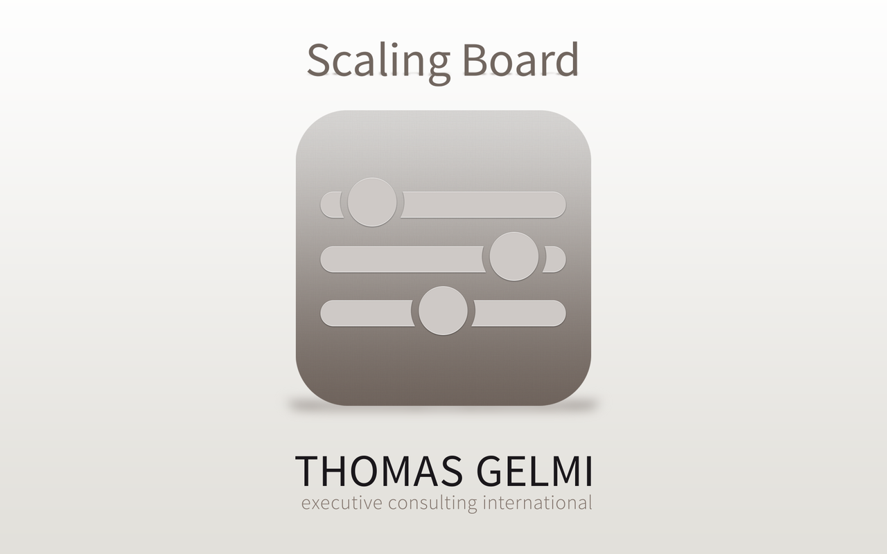 Scaling Board - screenshot