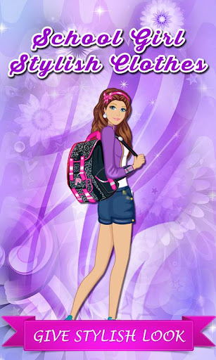 School Girl Stylish Clothes