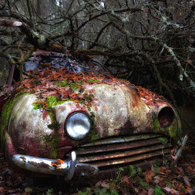 by Dirk Rosin - Transportation Automobiles ( hdr, hdr bearbeitet, bil, bilvrak,  )