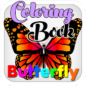 Butterfly Coloring Book Kids