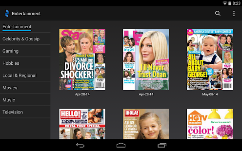 Zinio- Magazines.News.Articles- screenshot thumbnail