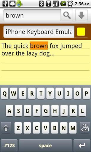 iPhone Keyboard Emulator v2.0.00 GA