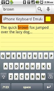 iPhone Keyboard Emulator - screenshot thumbnail