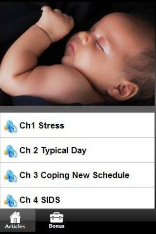 Sleeping Your Baby Tips - screenshot