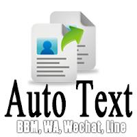 AutoText Ababil (BBM,WA,Line) 3.2