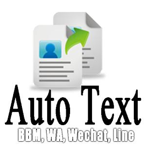 AutoText Ababil (BBM,WA,Line) 社交 App LOGO-APP試玩