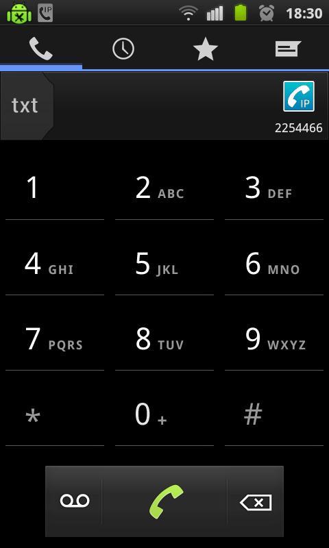 iD Phone- screenshot