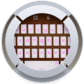 Pink Notebook TouchPal Theme