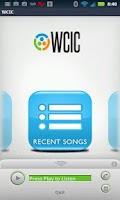 Screenshot of WCIC