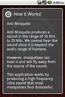 Anti Mosquito Sonic Repellent - screenshot thumbnail