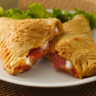 Crescent Pizza Pockets.