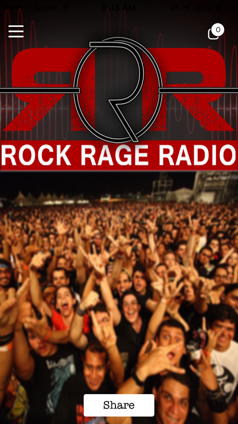Rock Rage Radio- screenshot