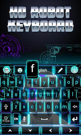 HD Robot GO Keyboard Theme