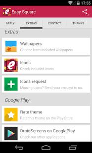 Easy Square - icon pack - screenshot thumbnail