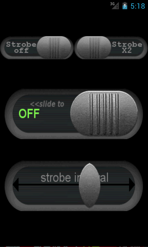Strobe LED Flashlight- screenshot