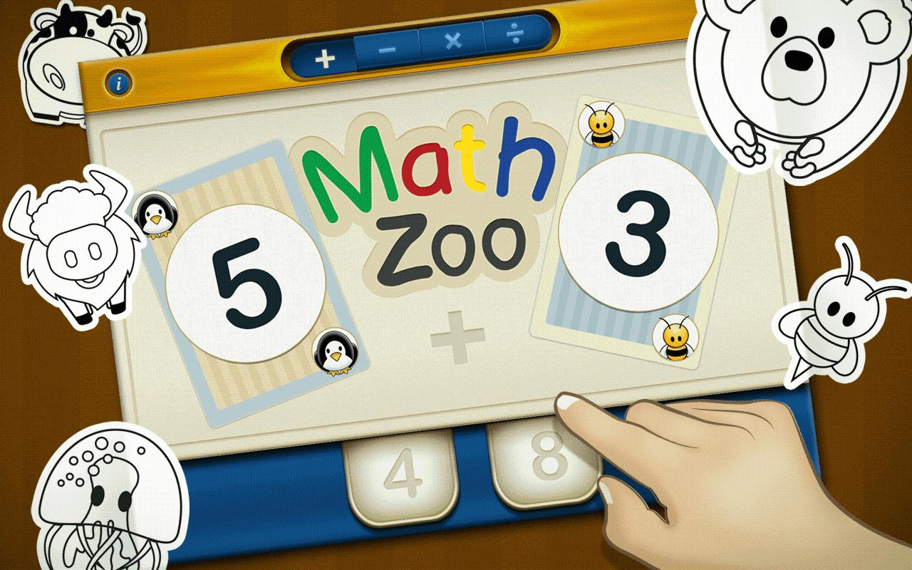 Math Zoo- screenshot