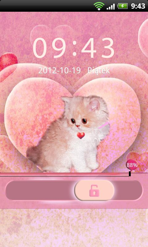 GO Locker Theme Kitty- screenshot
