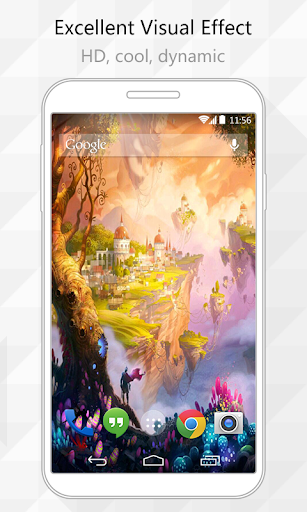 Sky Castles Live Wallpaper