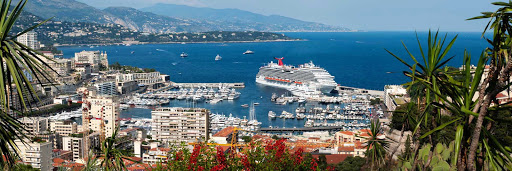 Carnival-Breeze-Monte-Carlo-Monaco - Carnival Breeze docks in beautiful Monte Carlo, Monaco.