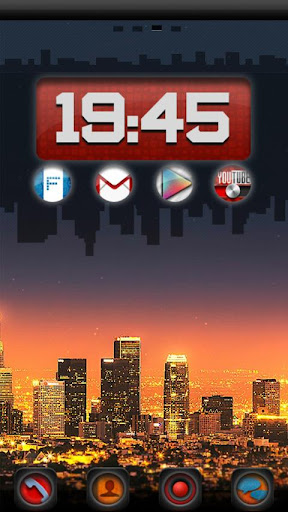 Angeles GO LauncherEX Theme