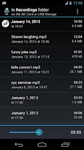 Hi-Q MP3 Voice Recorder (Full) - screenshot thumbnail