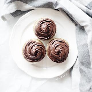 Roasted Hazelnut Cupcakes.
