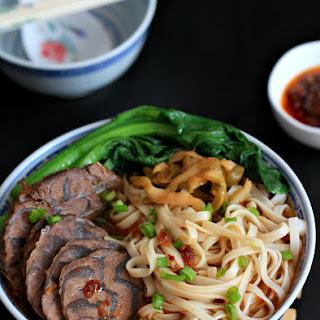 Taiwanese Beef Noodle Soup / Niu Rou Mian