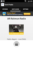 Screenshot of Tamil Radio Stations
