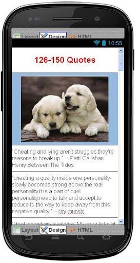 【免費娛樂App】Best Cheating Quotes-APP點子