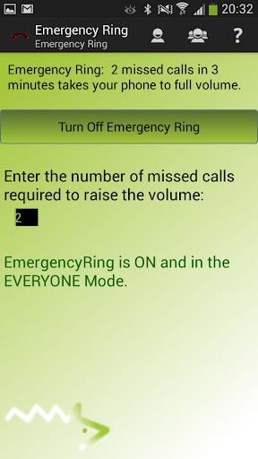 Emergency Ring