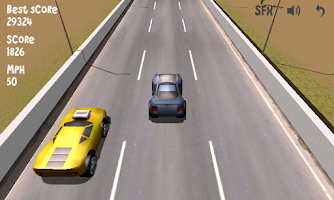 Screenshot of Lane Racer 3D