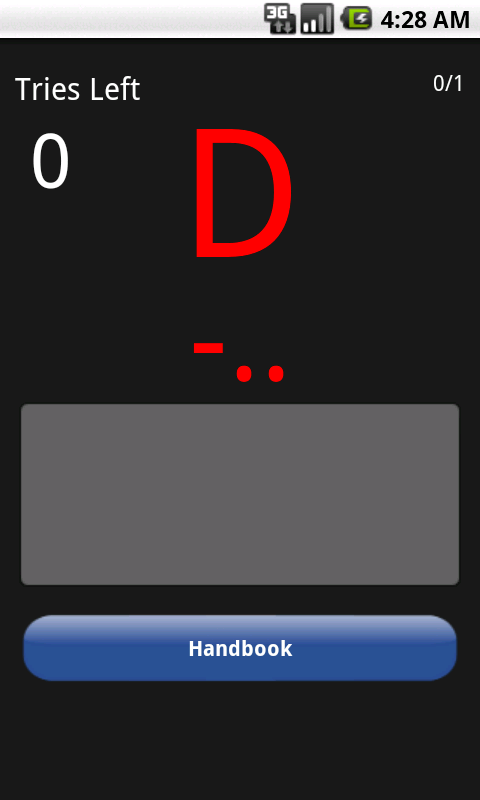 Morse Code Trainer- screenshot
