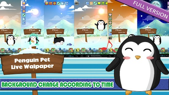 Penguin Pet LWP Free - screenshot thumbnail