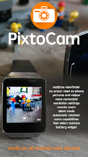 PixtoCam for Android Wear - screenshot thumbnail