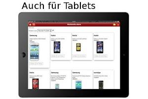Screenshot of Multimedia shoppen