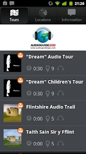 AudioGuide2Go.com - screenshot thumbnail