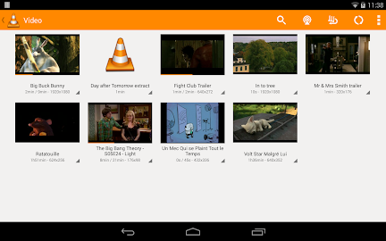 VLC for Android Beta Screenshot 1