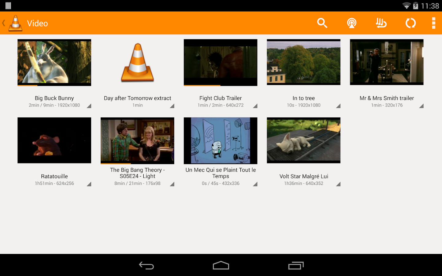 Phone Vlc Media Player Free Download For Android Phone vlc for android beta apps on google play screenshot