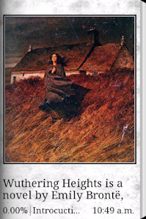 Wuthering Heights eBook - screenshot thumbnail