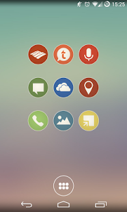 Simple Rounds Lite - Icon Pack- screenshot thumbnail