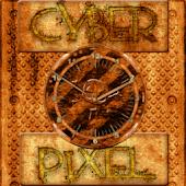 Industrial Grunge Clock