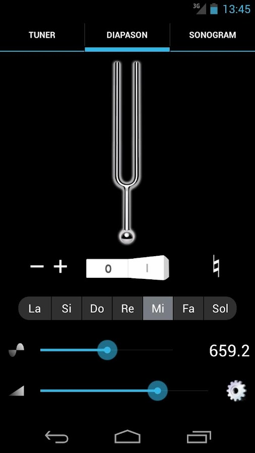 n-Track Guitar Tuner Free- screenshot