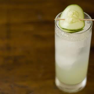 Cucumber Gin Fizz.