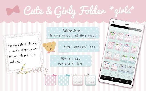 Cute Girly folder *girls*