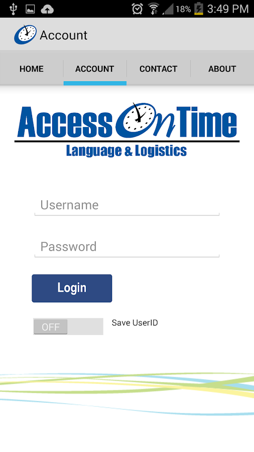 AccessOnTime- screenshot