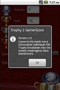 Trophy 2 Gamerscore - screenshot thumbnail