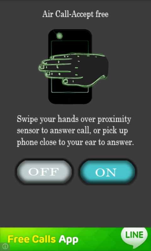 Air Call Answer- screenshot