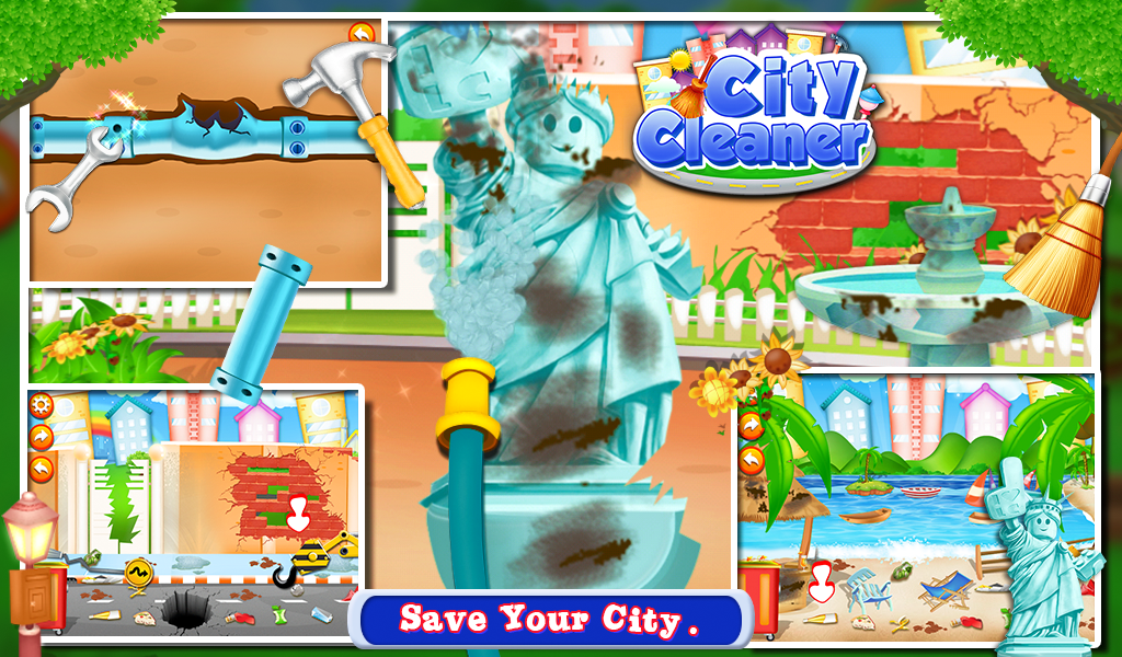 City Cleaner- screenshot